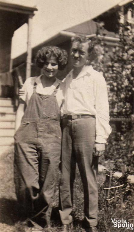 Viola Spolin and Wilmer Silverberg