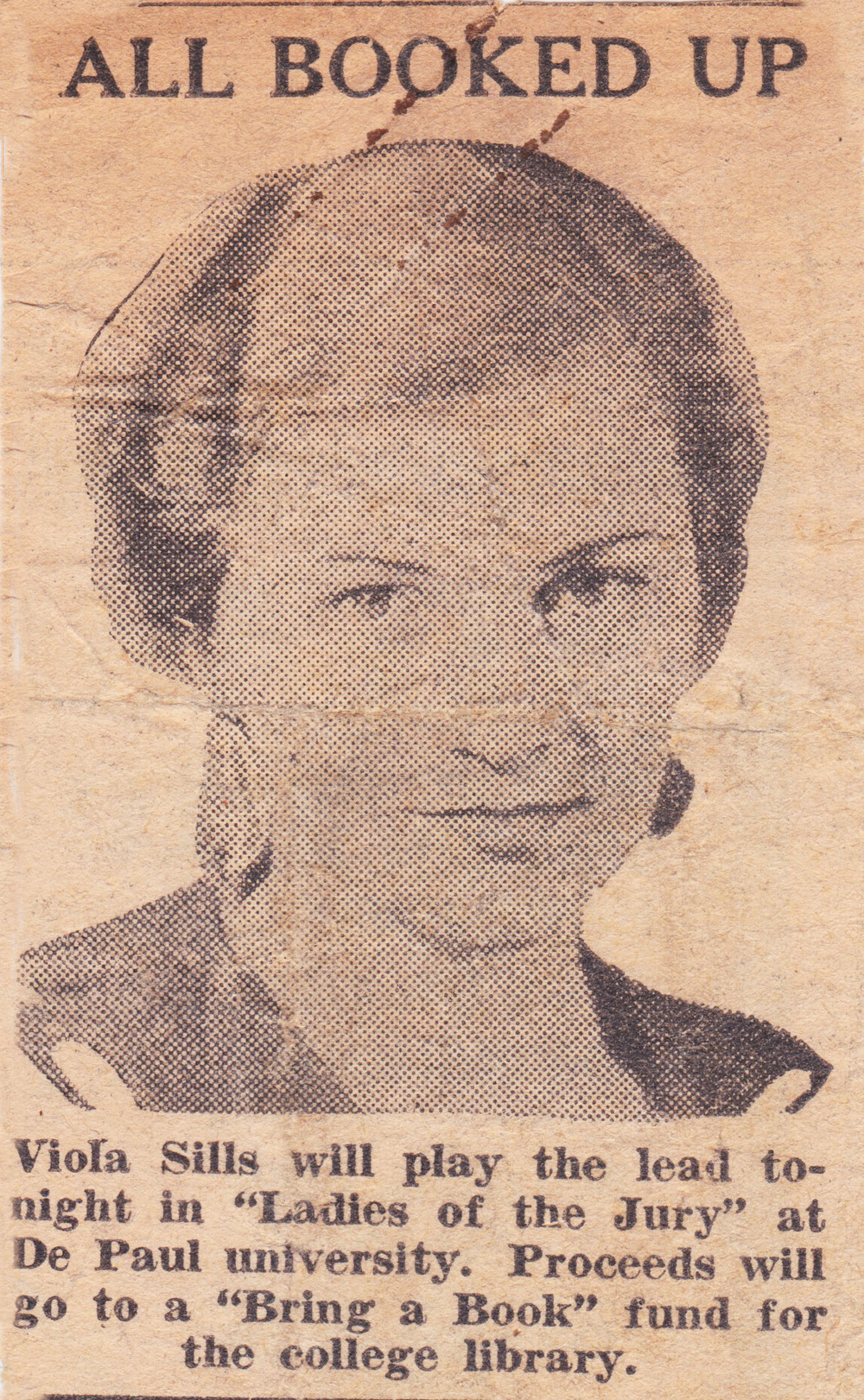 Viola Spolin at De Paul University