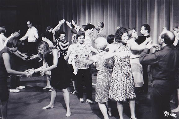Viola Spolin Class at Second City