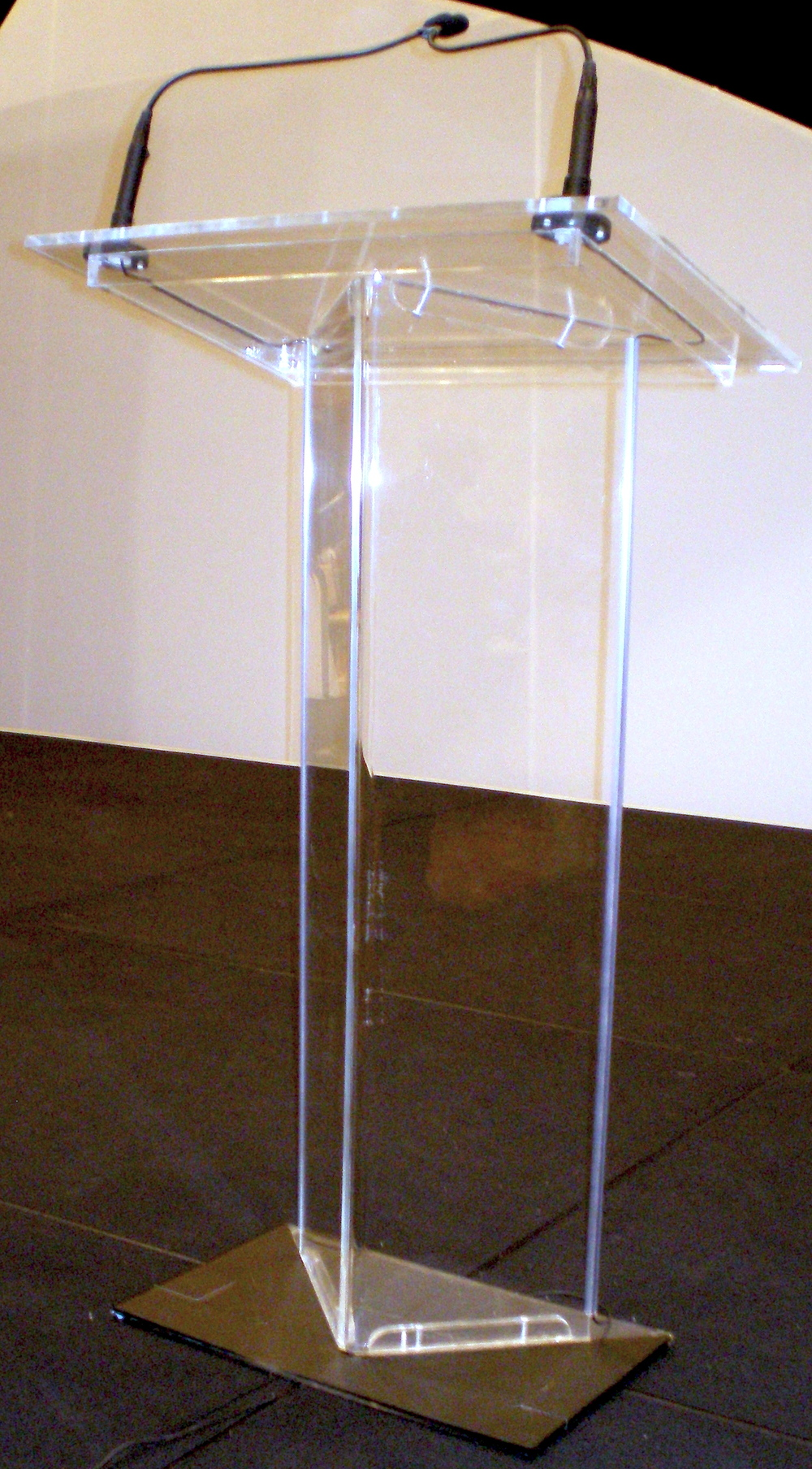 The Manhattan rental podium - lectern by You Want What? Productions INC