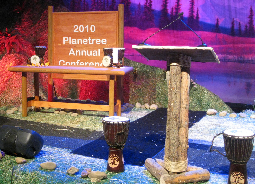 The Pine rental podium - lectern by You Want What? Productions INC
