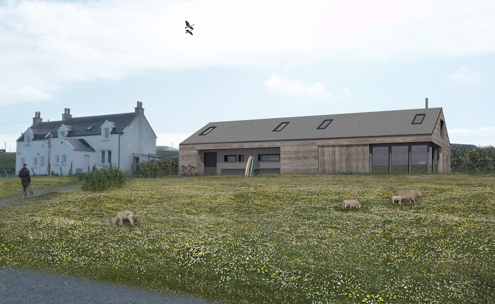 Balevullin - New Build Beach House, Isle of Tiree