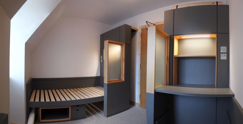Bespoke Convertible Bedroom Furniture -  Iona Abbey, Isle of Iona