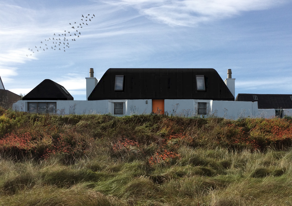 Seaview -  Renovation of Blacktop House, Mannal,   Isle of Tiree