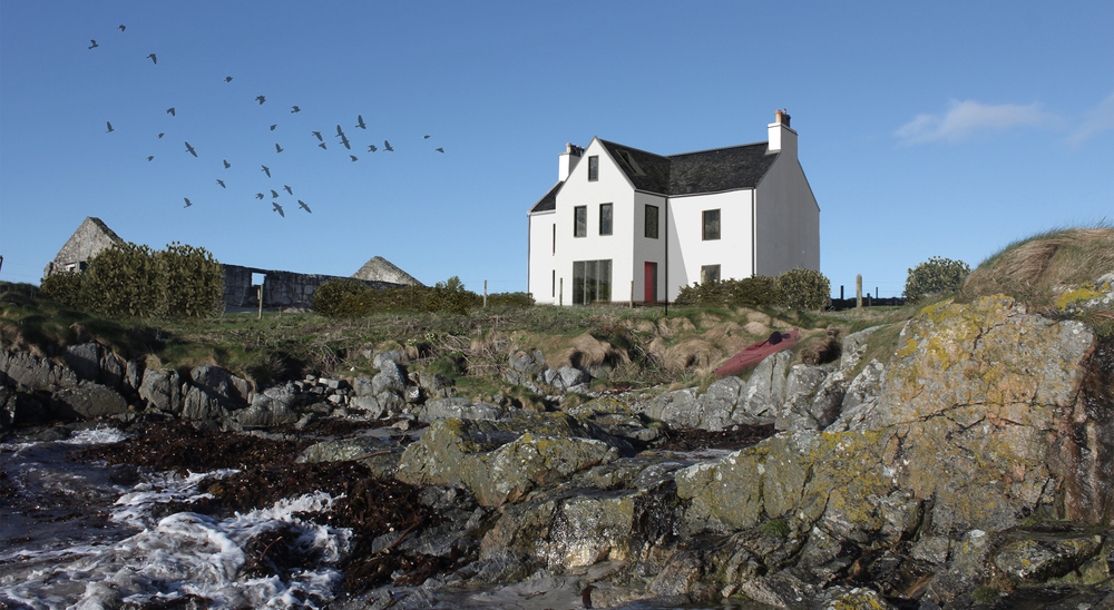 Mannal House  - Renovation of White House, Isle of TIree