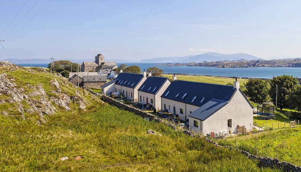 The Glebe -  5 New Build Houses , Isle of Iona