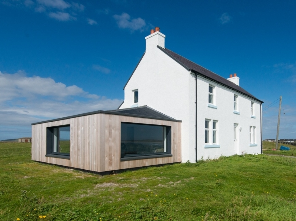 Crossapol House  - Renovation & Extension of White House, Isle of Tiree