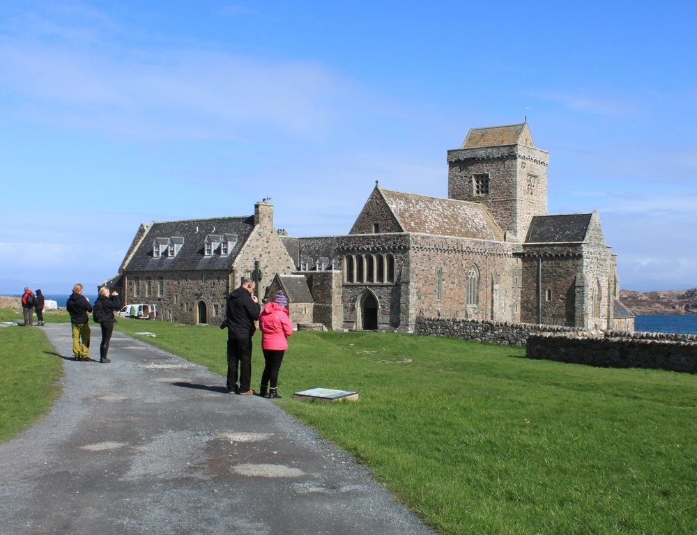 Iona Abbey  - Renovation of Historic Public Building, Isle of Iona