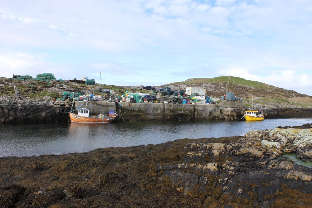 Milton Harbour - Renovation of Commercial Fishing Facilities, Milton, Isle of Tiree