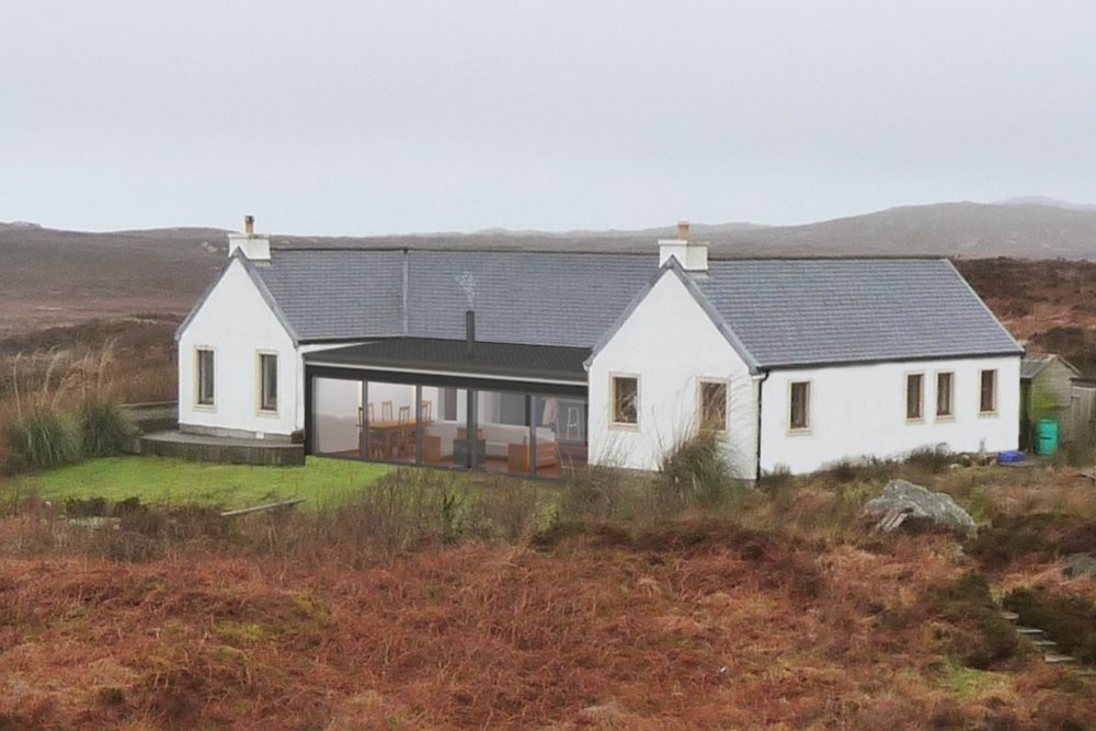 An Lanntair Extension -  Isle of Coll