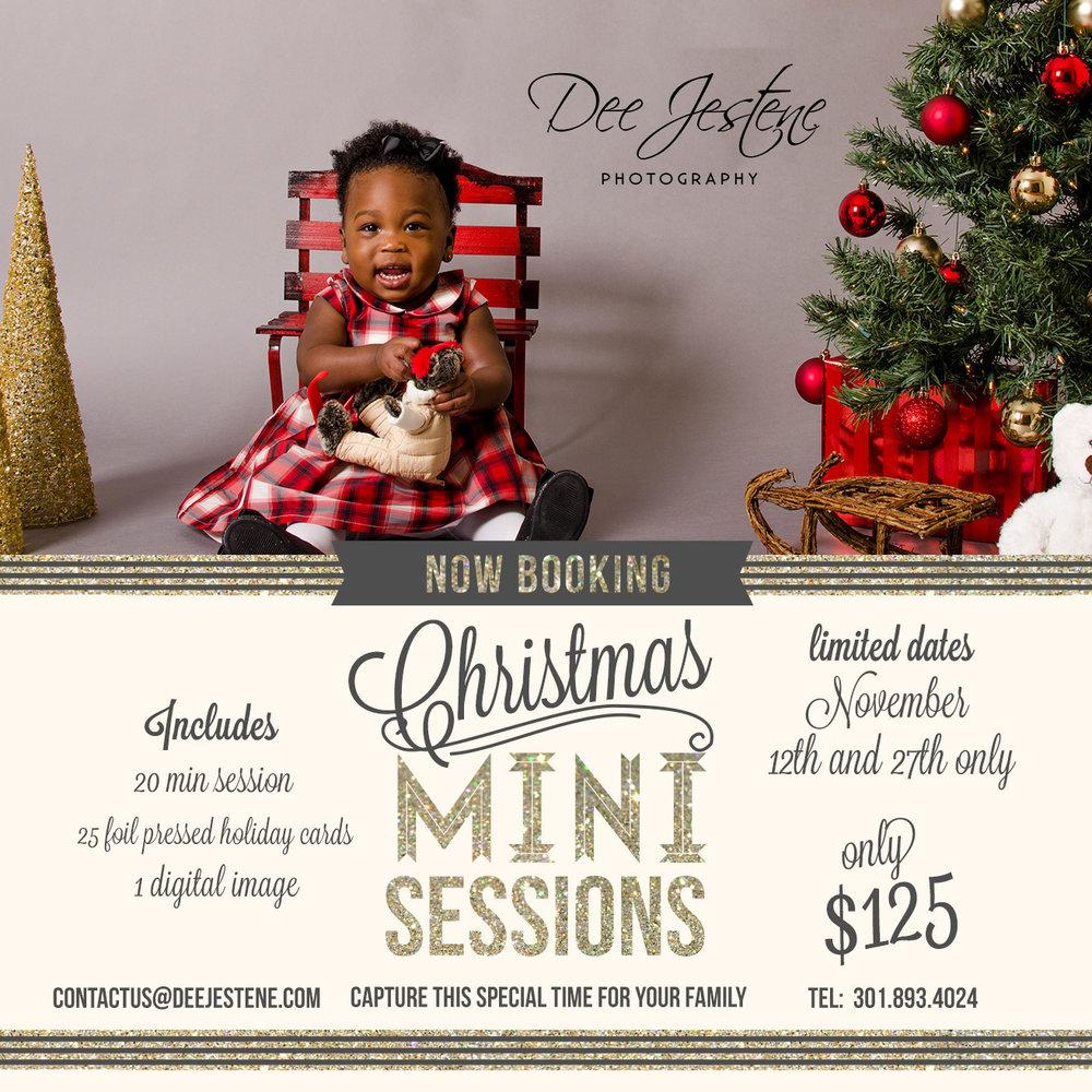 Holiday Mini Photoshoot