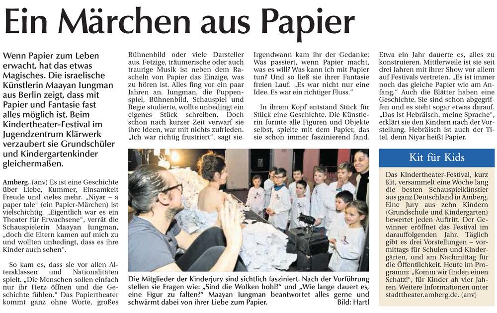 Amberger Zeitung Ein Maerchen aus Papier.jpg