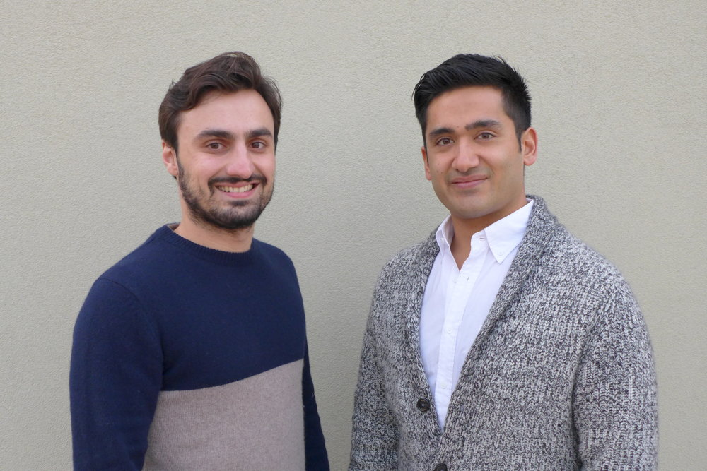 Co-founders, Harris Atmar and Rabindra Shrestha