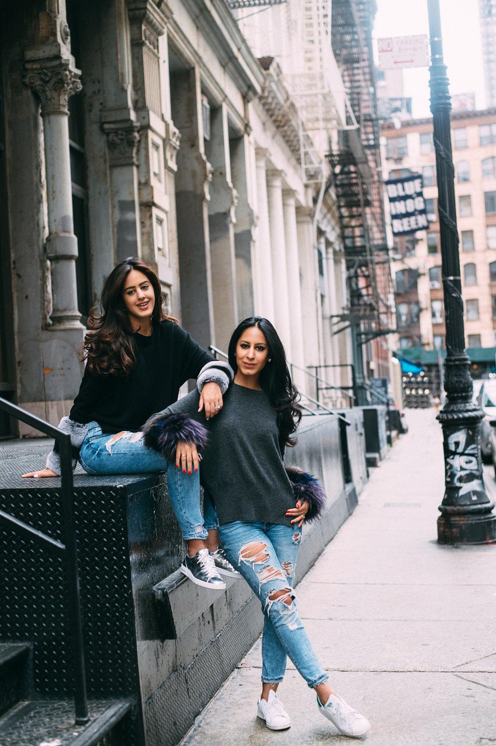 Roshni and Karishma Khemlani
