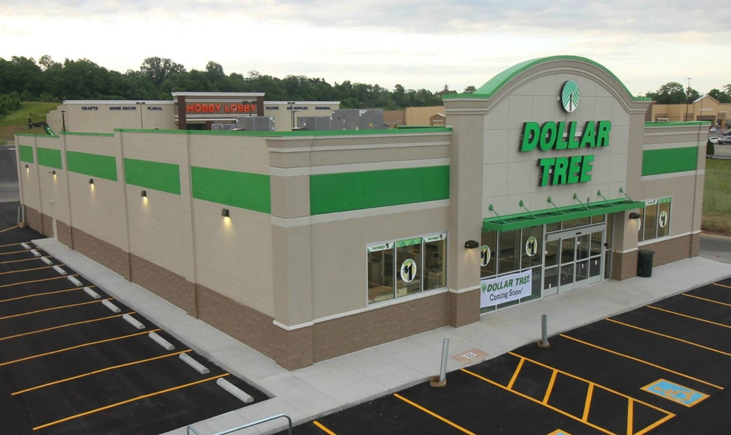 New Dollar Tree Completed - Springfield, OH — Clark, Geer, Latham ...