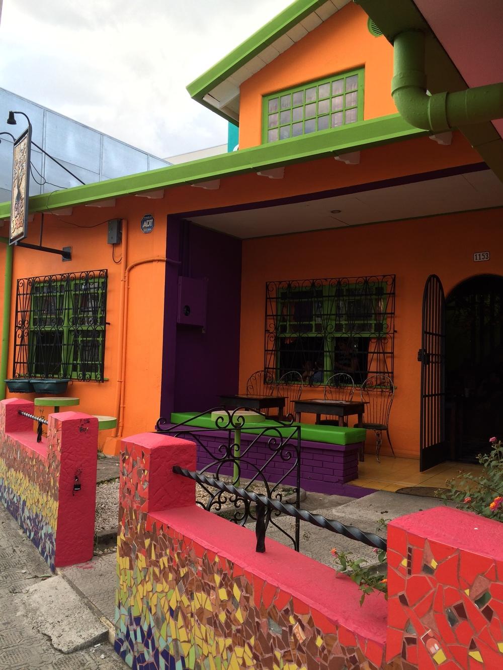 Cafe de los Deseos, San Jose, Costa Rica