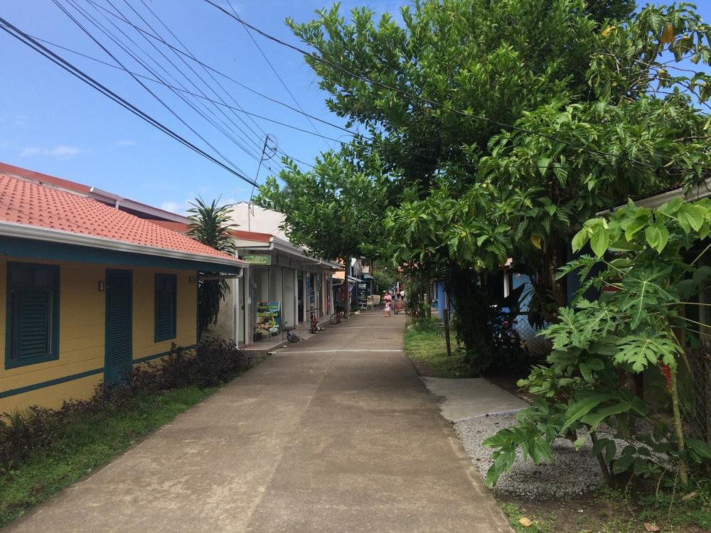 in Tortuguero Village