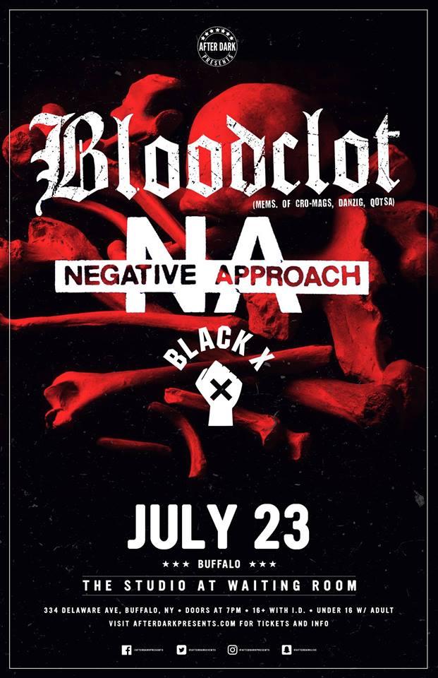 BLACK X at The Studio At Waiting Room, Buffalo NY — IDEFY RECORDS ...