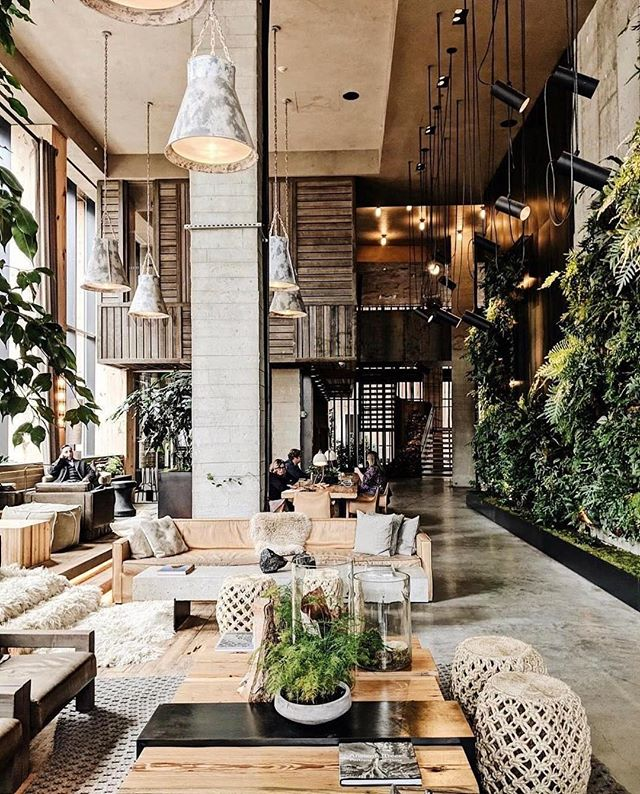 We'll be waiting out the rest of winter here! @1hotels Brooklyn Bridge should be on all of your #stringhitlists. #cozy