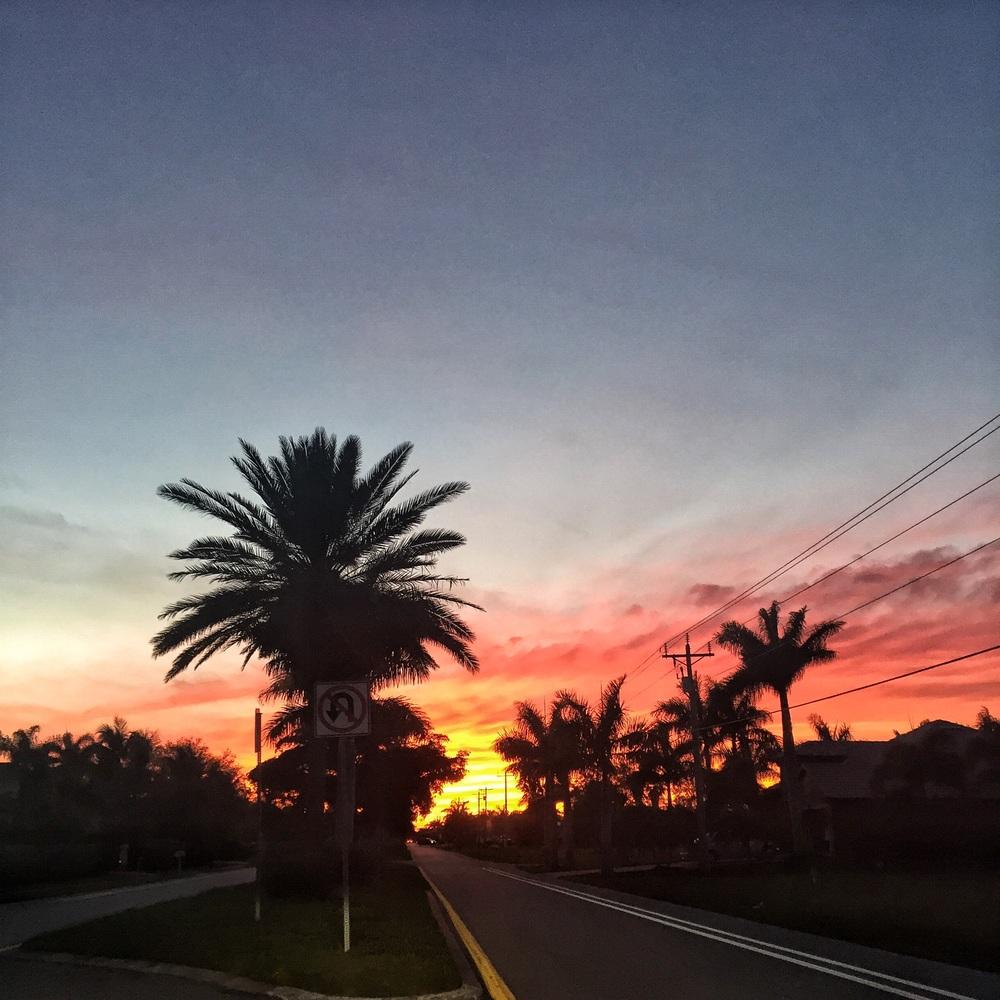 Floridian sunsets