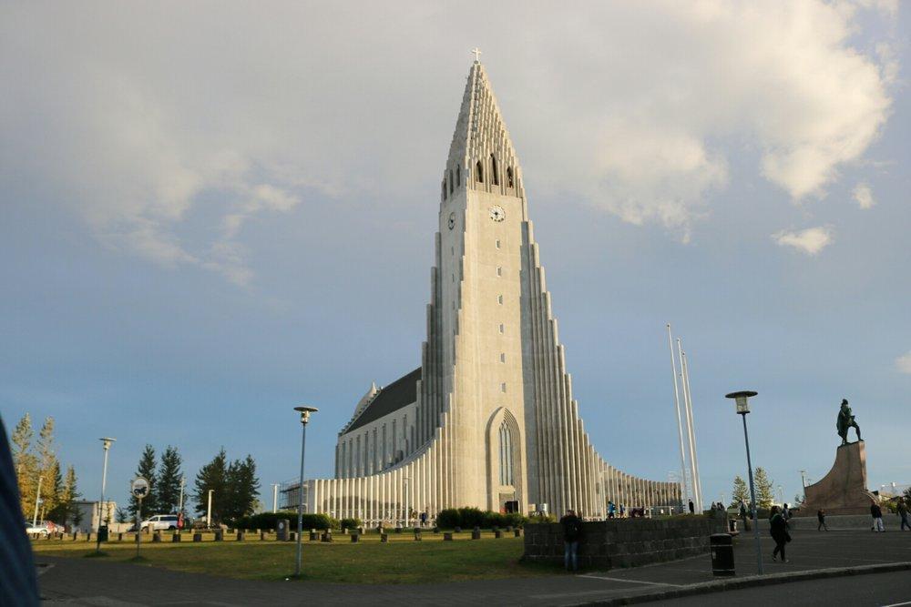 Halgrimskirkja Church, Reykjavik.