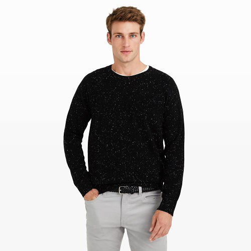 Cashmere Donegal Crew Sweater
