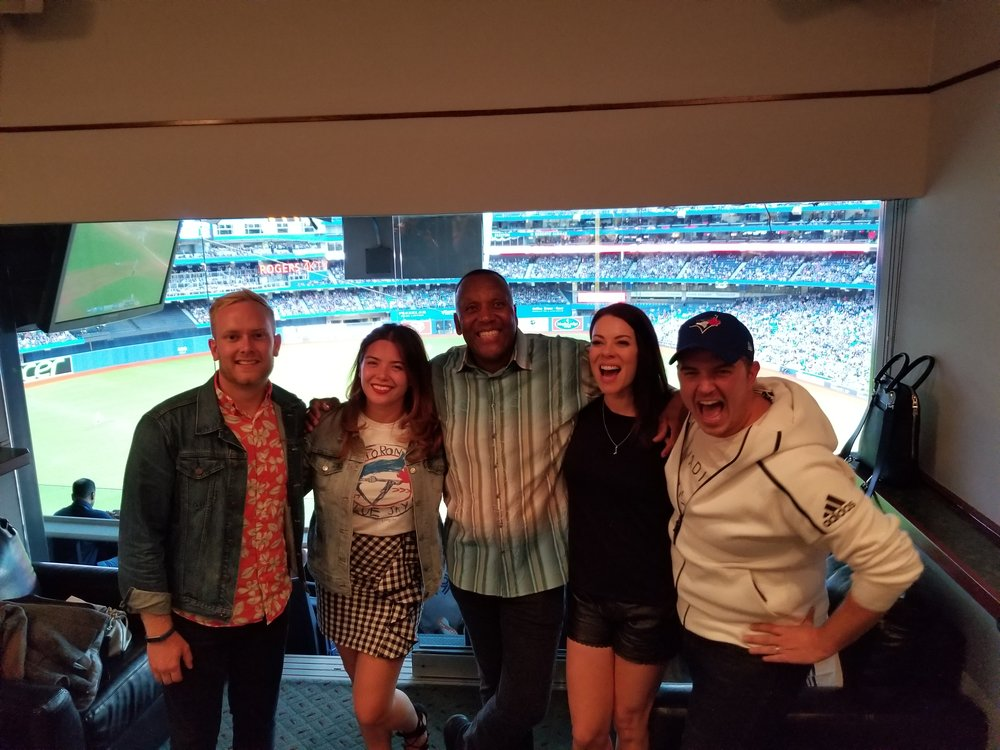 We even got to meet Joe Carter!