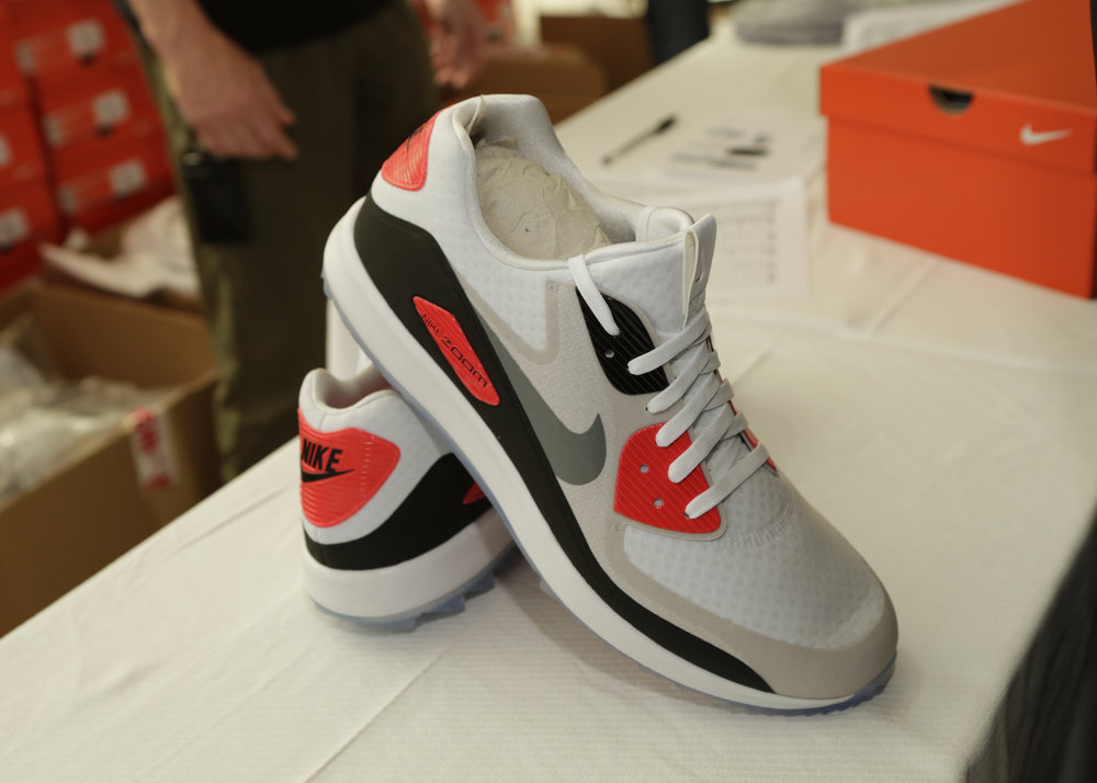 Nike Airmax Golf Shoes.