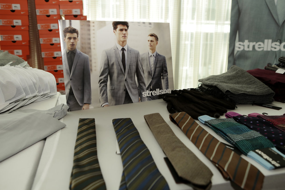 Ties and socks from Strellson.