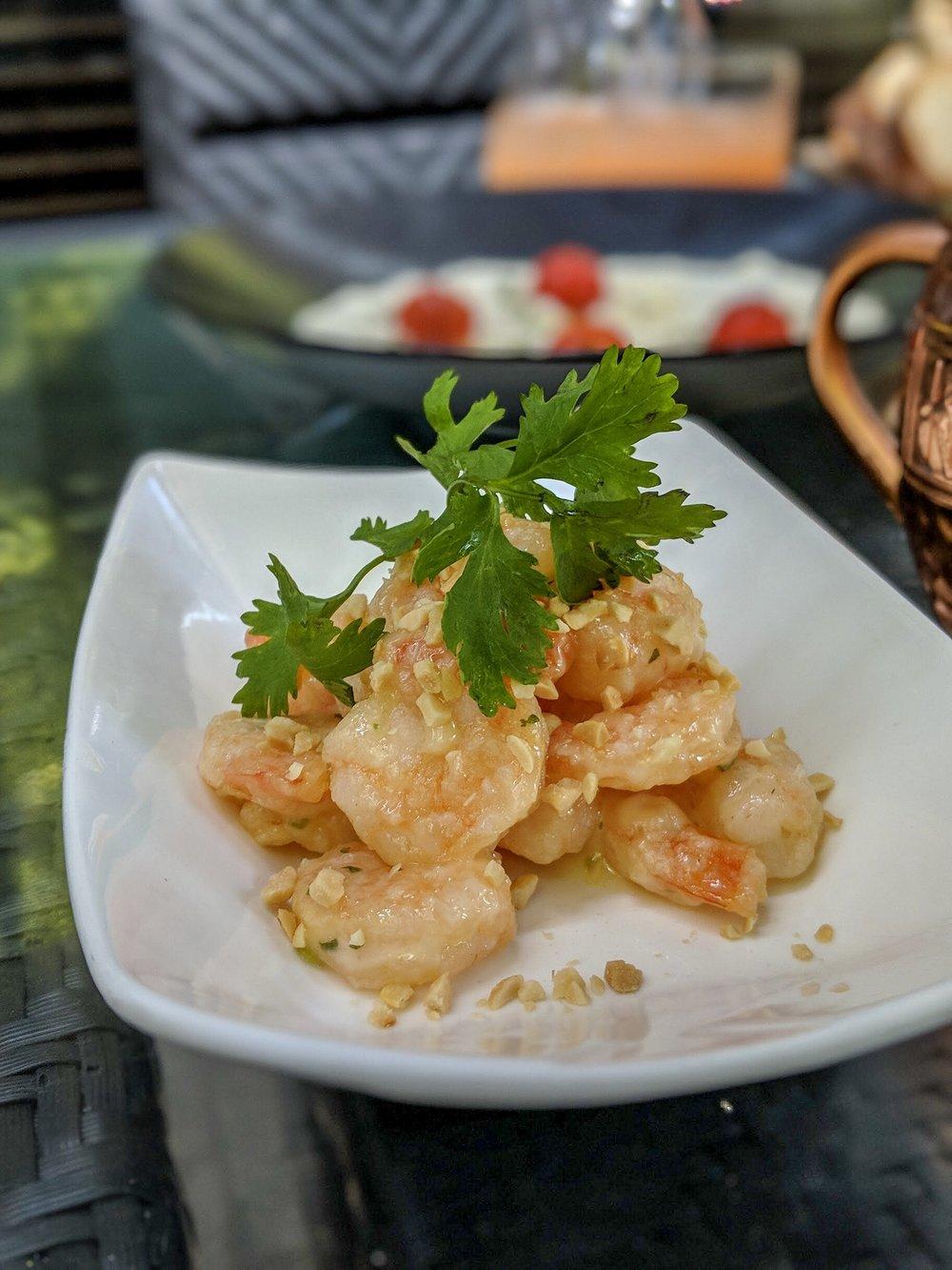 Honey Peanut Shrimp