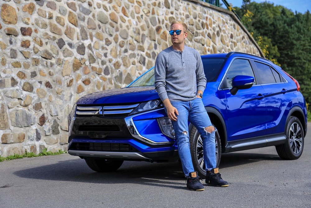 Mitsubishi Eclipse Cross in Octane Blue