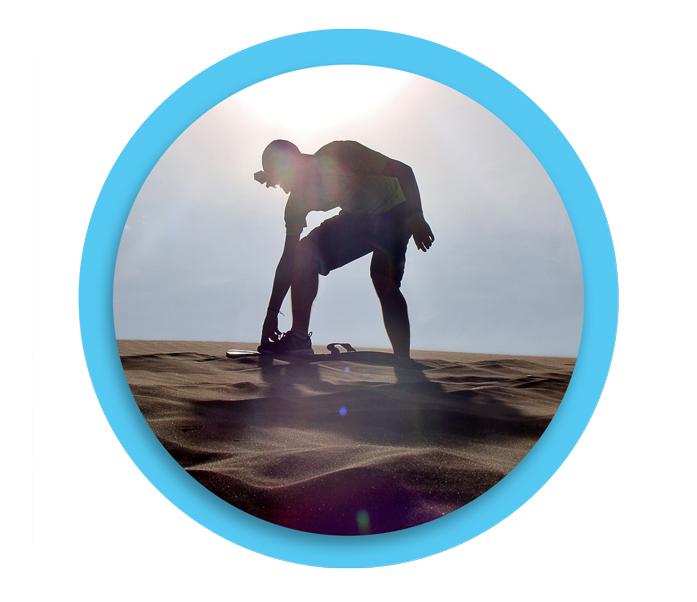 Sandboarding -