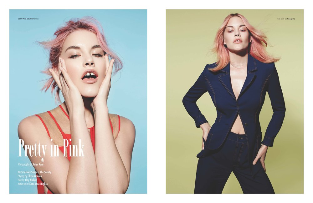 ASHLEY for SOMA MAG