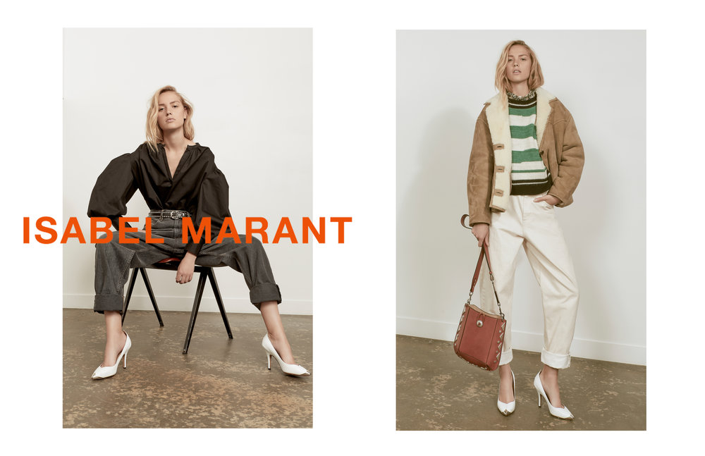 ISABELLE MARANT FW18 LOOKBOOK for MODA OPERANDI