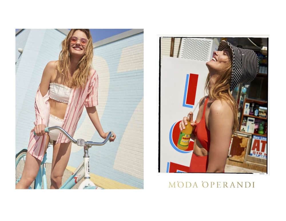SWIMWEAR CAMPAIGN for MODA OPERANDI