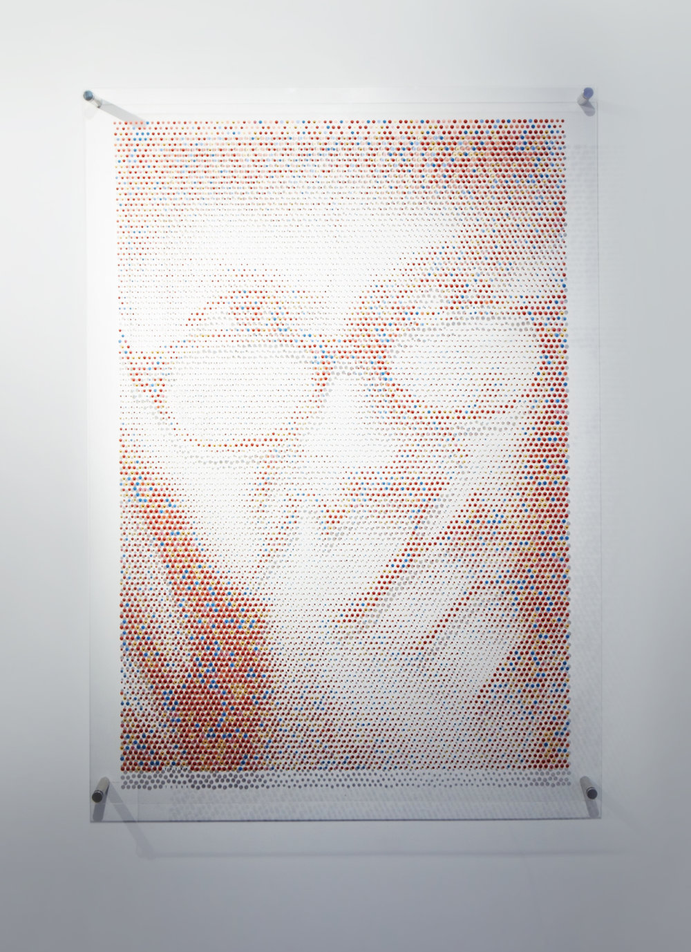 Paul Rand: Emoji Portrait Cadillac House, 2017