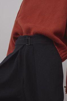 Wool pinstripe wrap   http://ift.tt/2jUPDfy