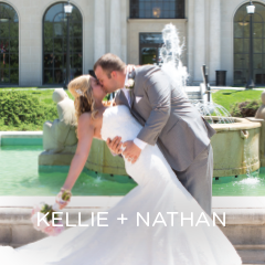 See Kellie and Nathan's big day on Iowa State's Campus.