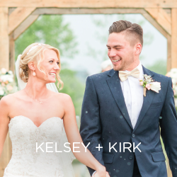 See Kelsey and Kirk's fabulous BIG day.