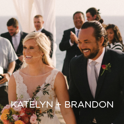 See Katelyn and Brandon's beach destination wedding in CABO!
