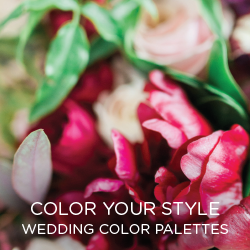 Be inspired by real brides using the palettes they picked for their day.
