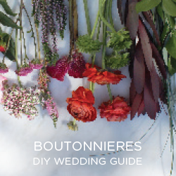 We love DIY-ing it. Here's how you can make your own boutonnieres from market fresh flowers!