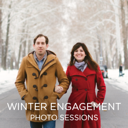 Winter is a beautiful time for engagement photos. See some of our favorite couples.
