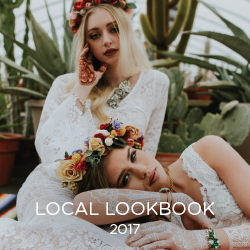 Local DSM bridal artists showcase their talents in our 2017 Local Lookbook.