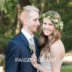 Your perfect wedding could be no farther than your own backyard. See how this couple did it.