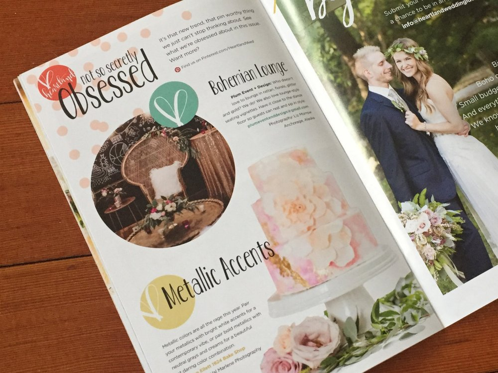 Example of Obsessed article, Vendor Spotlight