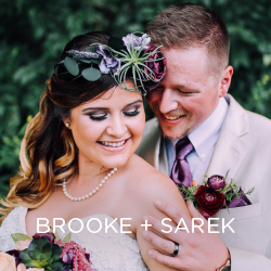 See how Brooke and Sarek created their romantic vineyard wedding.