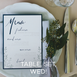 See how these talented vendors styled gorgeous table settings in rustic, romantic and tropical.