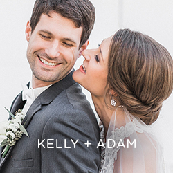 Get a glimpse into Kelly and Adam's elegant wedding at The Temple for Performing Arts. A grand wedding for a down-to-earth couple.