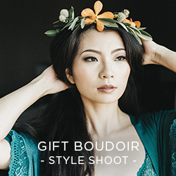 We heart the gift of boudoir and we're pretty sure someone in your life will too. See how the ladies of Ingenue can give you that permanent  swagger .